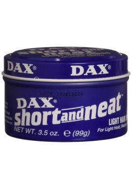 Dax Wax Blue Short And Neat Light Hair Dress 99g