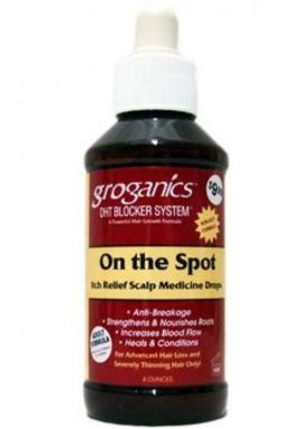 Groganics On The Spot Itch Relief Scalp Drop 120 ml