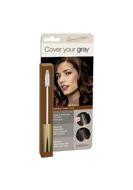 Cover your gray Brush In Mascara Mahogany