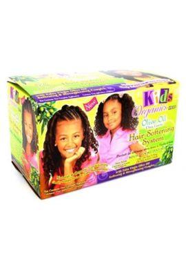 Kids Organics Olive Oil Ultra Gentle Hair Softening System Kit
