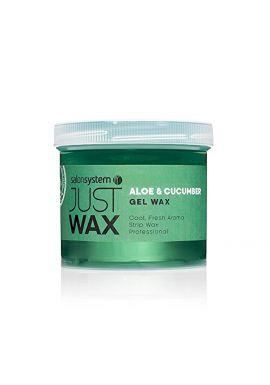 Salon System 450g Just Wax Aloe and Cucumber Gel Wax Brazilian Wax