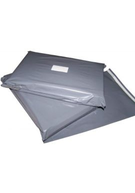 100 10x14 Grey Postage Mailing Bags