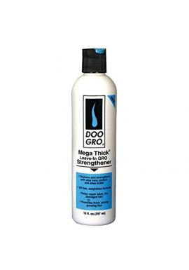 DOO GRO MEGA-THICK LEAVE-IN GRO STRENGTHENER FOR HAIR GROWTH & LOSS