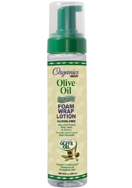 Organics by africa' AB S Best Org For Foaming Wrap Lotion with Olive Oil 8.5oz/251ml