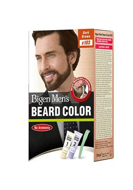 Hoyu Co. Bigen Men's Beard Color, Dark Brown B103