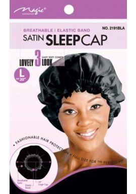 "Magic Collection Satin Sleep Cap L 20"" No 2191"