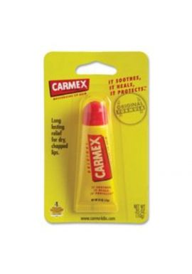 Carmex - Everyday Soothing Lip Balm External Analgesic Original - 0.35 oz.