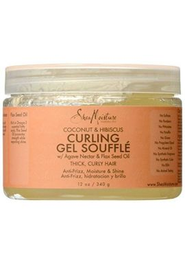 Modeling gel for curls with coconut and hibiscus, 340 g