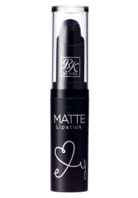 Kiss Ruby Kisses Matte Lipstick - Blackism 6-Count