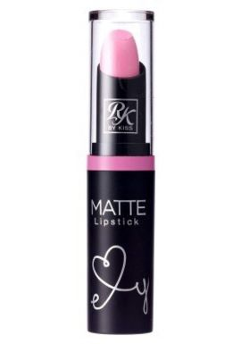 Kiss Ruby Kisses Matte Lipstick Pink About It