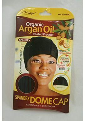 Spandex Dome Cap, Organic Argan Oil Treated Product