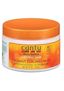 Cantu Natural Hair Coconut Curling Cream 12oz Jar by Cantu
