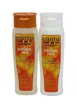 Cantu Shea Butter for Natural Hair Shampoo and Conditioner SULFATE FREE