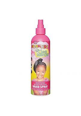African Pride Dream Kids Olive Miracle Soothing Moisturizing Braid Spray 355 ml/12 fl.oz