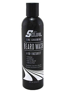 Luster's SCurl® Beard Wash 236ml/8oz