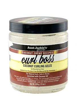 Aunt Jackies Coconut Creme Curl Boss Curling Glee Mousses, 426 g