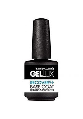 Salon System Gellux Gel Recovery Plus Base Coat Nail Polish, 15 ml