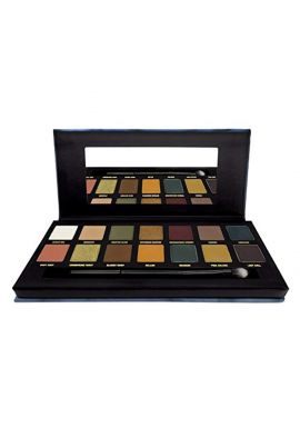 W7 On The Rocks Naturals On Ice Eye Colour Palette, 11.2 g, 14-Piece