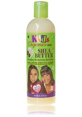 AFRICA'S BEST ORGANICS Kids Shea Butter Detangling Moisturizing Hair Lotion with Olive Oil 12oz/355ml