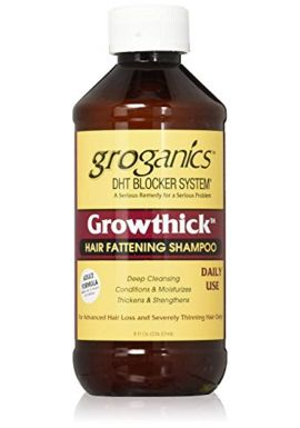 Groganics Growthick Hair Fattening Shampoo 235 ml
