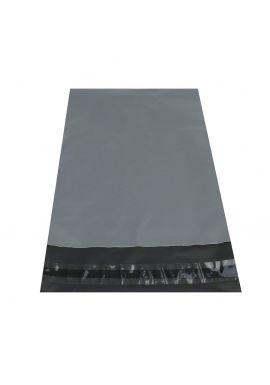 """25 x Strong Large Grey Mailing Postal Bags 17 x24"""" Mailers"""