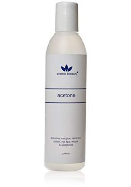 100% PURE ACETONE ARTIFICIAL NAIL REMOVER 250 ML***2 PCS DEAL***
