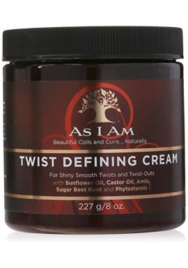 AS I AM Twist Defining Cream for Shiny Smooth Twists and Twist-Outs - 227g