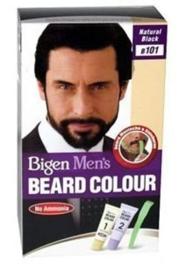 BIGEN MEN'S BEARD COLOUR B101 NATURAL BLACK (NO AMMONIA)