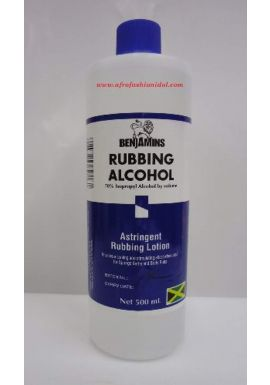BENJAMIN RUBBING ALCOHOL- ISOPROPYL ALCOHOL 70%- 500 ML