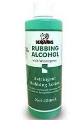 BENJAMIN RUBBING ALCOHOL- ISOPROPYL ALCOHOL 50%- 250ml
