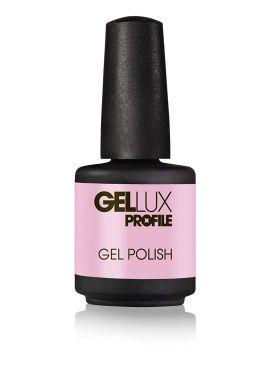 Salon System Profile Gellux Magenta Sparkles Glitter Gel Polish 15ml