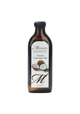 Mamado Aromatherapy Natural Coconut Oil For Skin And All Types Of Hair 150ml
