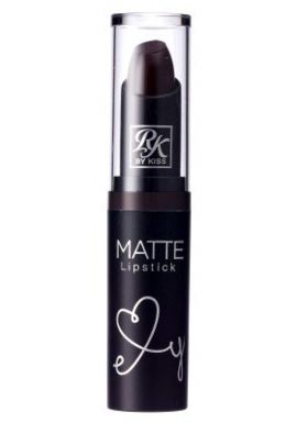 Kiss Ruby Kisses Matte Lipstick - Dark Plum Scene 6-Count