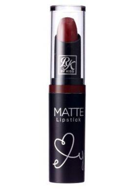 Kiss Ruby Kisses Matte Lipstick - Vampire Red 6-Count