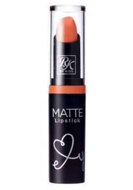 Kiss Ruby Kisses Matte Lipstick - Peach Loo 6-Count