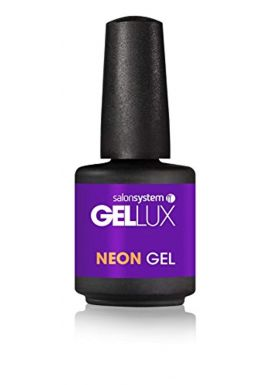 salonsystem Profile Gellux Gel Polish, Flaming Purple 15 ml