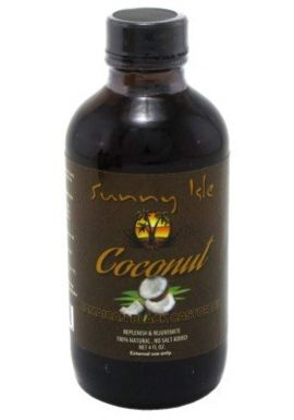 Sunny Isle Jamaican Castor Oil - Coconut Black 4 oz.