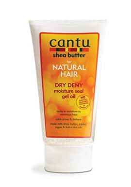 Cantu Natural Hair Dry Deny Moisture Seal Gel Oil 5 Ounce Tube (145ml)