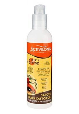 Activilong Actiforce Leave In Black Castor Oil Mamey Sapote 240 ml