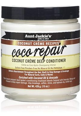 Aunt Jackies Coconut Creme Coco Repair Mousses, 436 ml