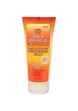 African Pride Shea Miracle Moisture Intense Curl Activator Moisturizing Jelly 170g