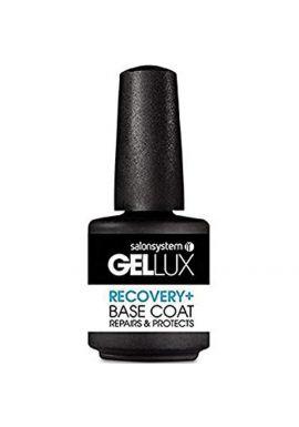 Salon System Gellux Gel Recovery Plus Base Coat Nail Polish, 15 ml