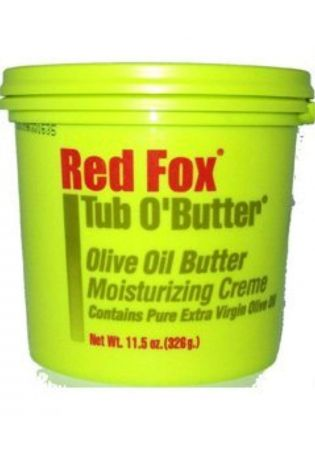 RED FOX TUB O'BUTTER OLIVE OIL MOISTURIZING CREME 328g