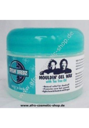 Stylin' Dredz Mouldin' Gel Wax with Tea Tree Oil - Maximum Hold - 250ml