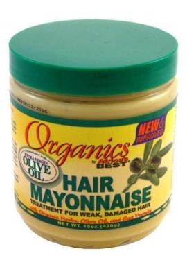Africa's Best Organics Hair Mayonnaise 443 ml Jar (Treatment)