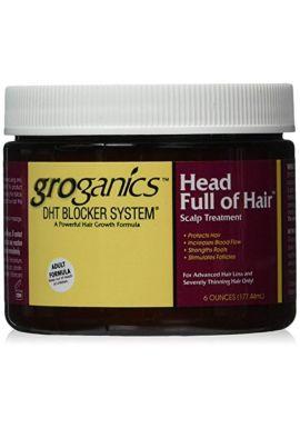 Groganics Head Full Of Hair 177 ml