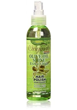 Africa's Best Organics Olive Oil Extra Virgin Hair Polish 177 ml Mist (Hair Fashion)