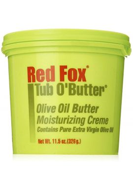 Red Fox Tub O'Butter Olive Oil Butter Moisturizing Creme 326 g