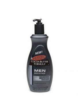 New! Palmers Cocoa Butter Formula Men's Body & Face Lotion For Relief Of Rough, Dry Skin! Pump Bottle 400ml