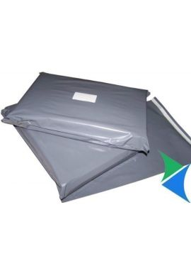 """10 x Strong Grey Mailing Postal Bags 12x16"""" Mailers"""